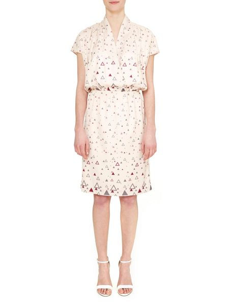 Nougat London Hampstead Wrap Front Dress