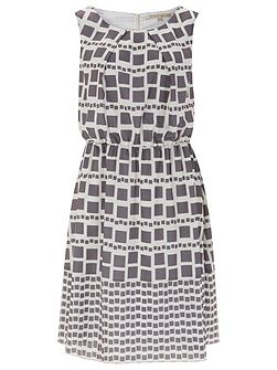 Marylebone Tile Print Dress