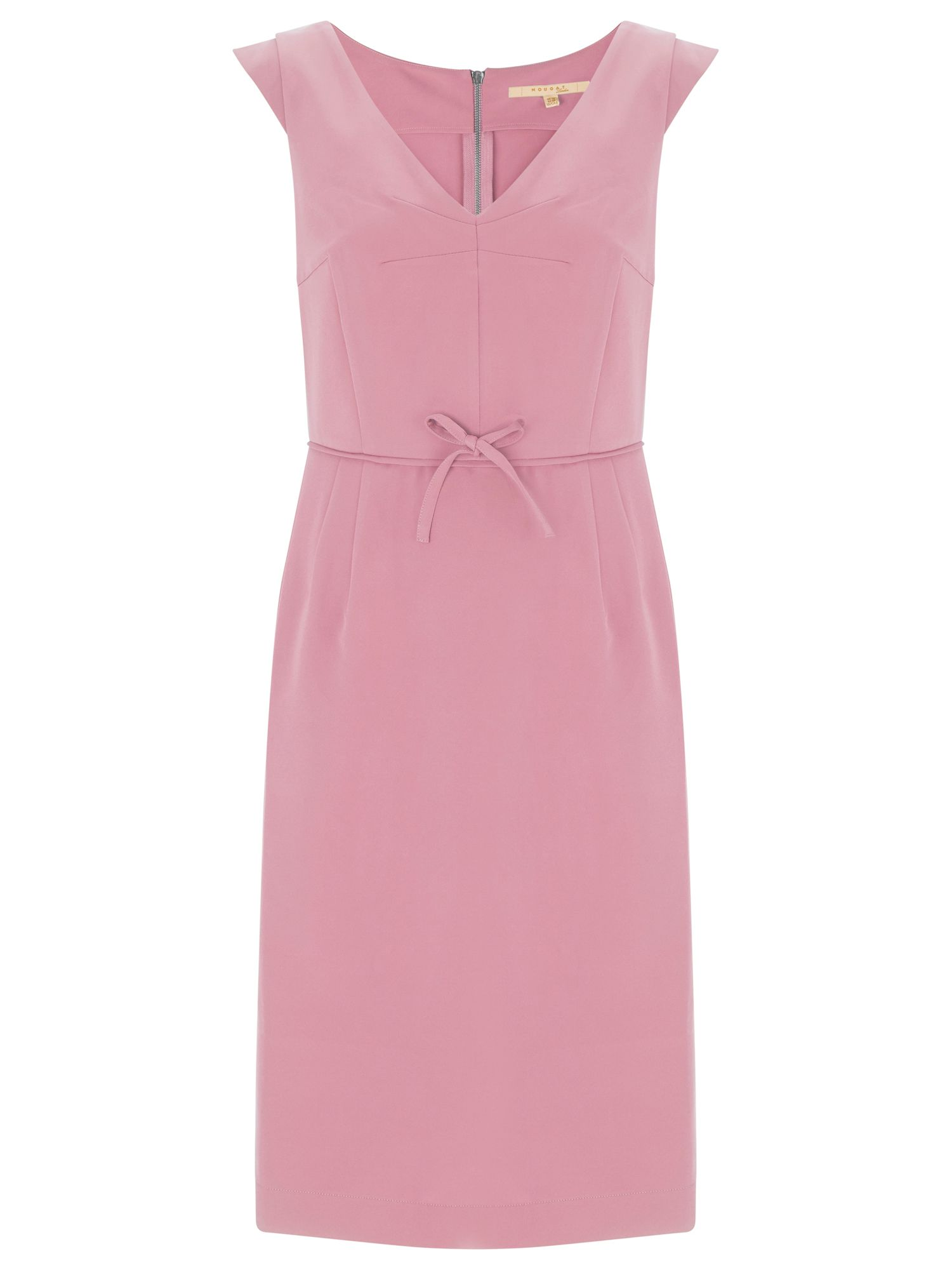 Nougat London Chelsea Cap Sleeve Dress, Pink