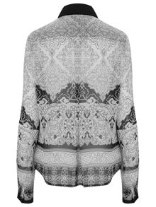 Nougat London Battersea Baroque Blouse