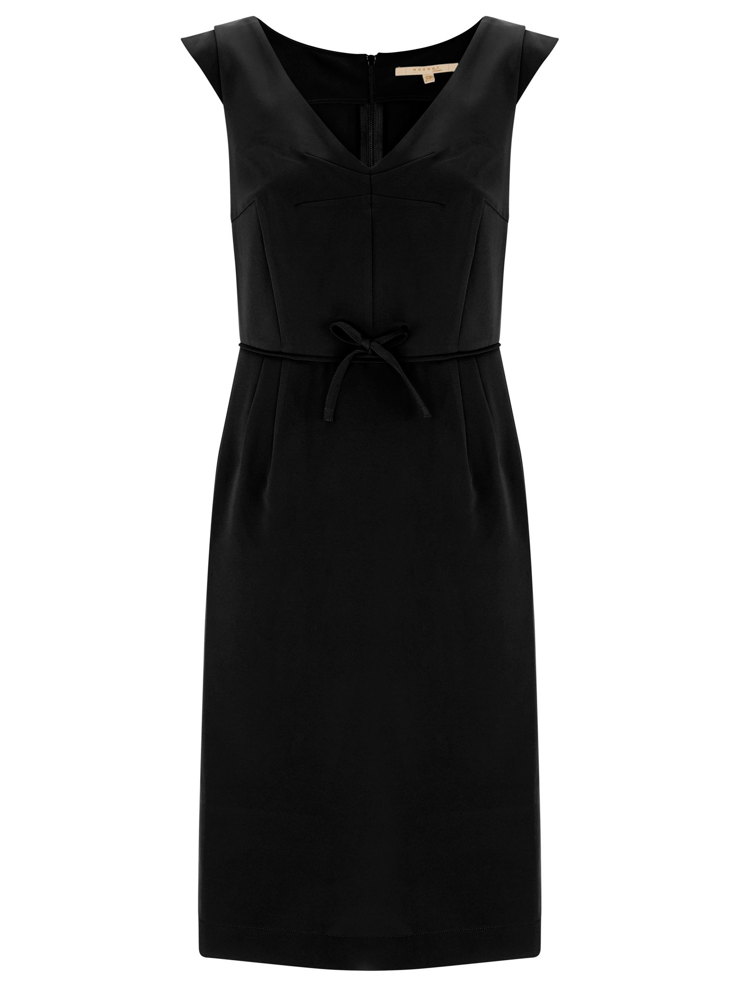 Nougat London Chelsea Cap Sleeve Dress, Black