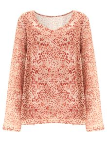 Nougat London Shoreditch Printed Top