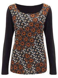 Barbican Printed Top