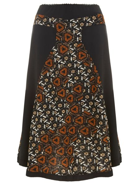 Nougat London Barbican Printed Skirt