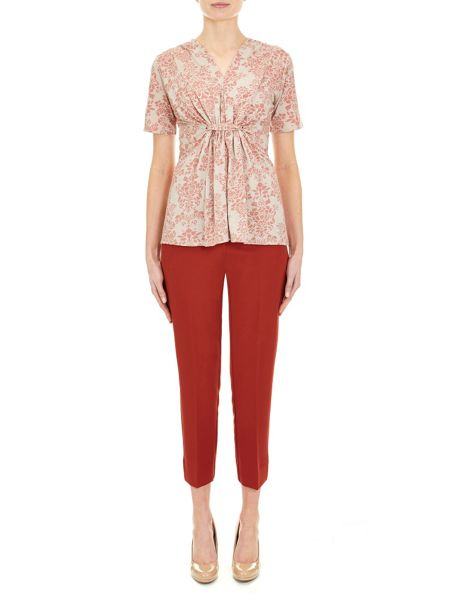 Nougat London Queensbury Gathered Waist Top
