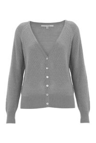 Nougat London Iris Pointelle Cardigan