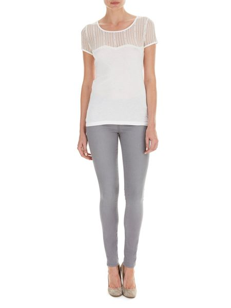 Nougat London Daisy Lace T-Shirt