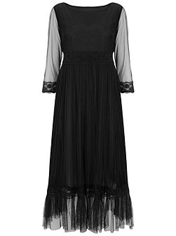 Petunia Lace Frill Dress