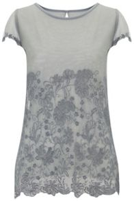 Nougat London Lily Embroidered T Shirt