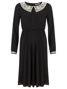 Nougat London Holly Collar Detail Dress