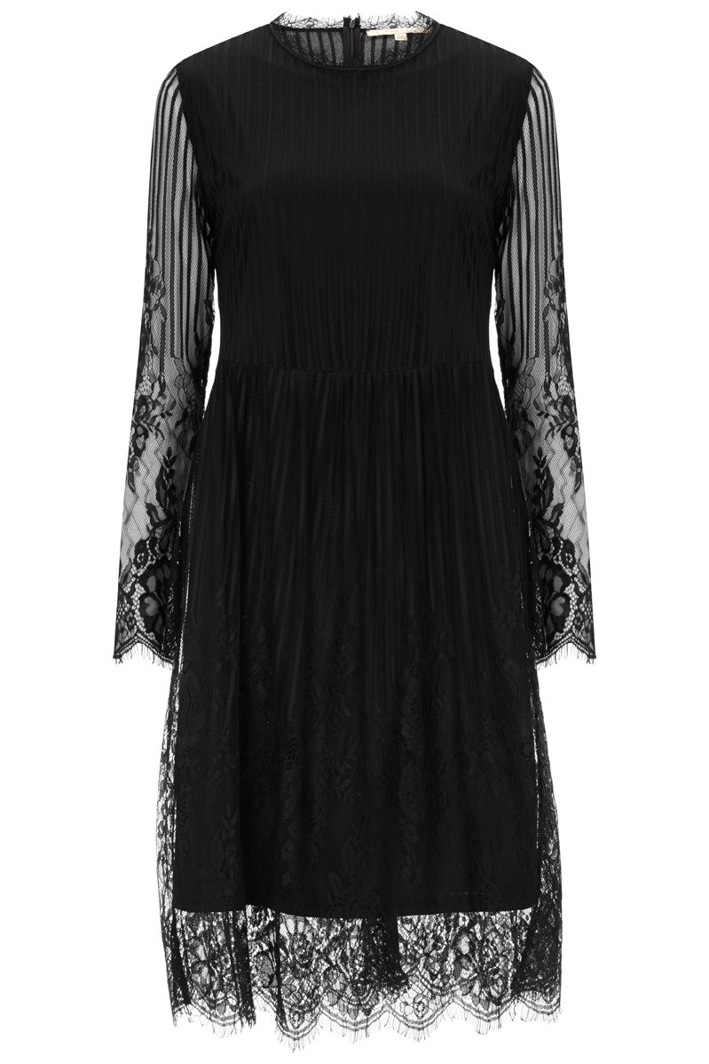 Nougat London Primrose Lace Dress, Black