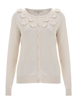 Orchid Embroidered Cardigan