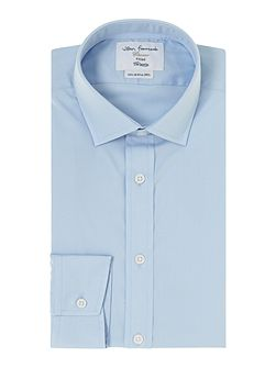Poplin fitted shirt