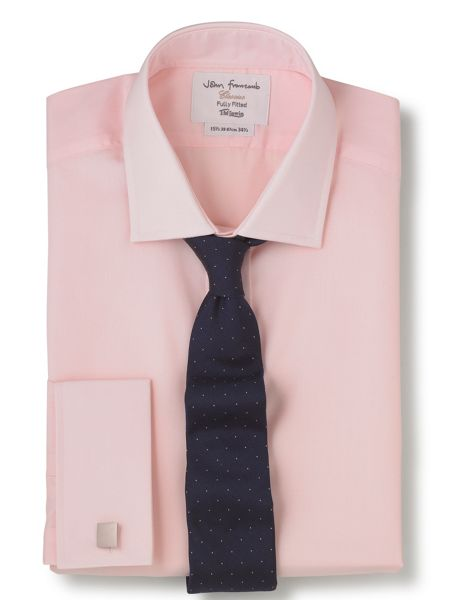 TM Lewin Poplin fitted shirt