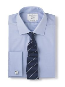 Non-iron fitted shirt