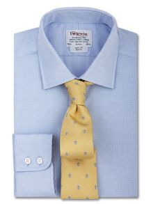Pinpoint oxford slim fit shirt