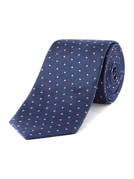 TM Lewin Patterned Slim Tie