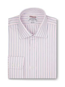 TM Lewin Stripe end-on-end regular fit shirt