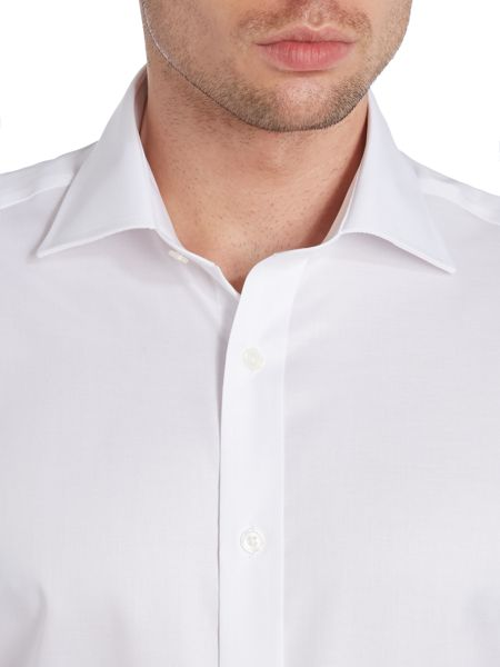 TM Lewin Non-Iron Fine Twill Regular Fit Shirt
