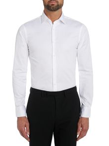 Plain Tailored Fit Long Sleeve Formal Shirt