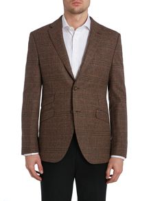 Baxter Glen Check Casual Button Blazer