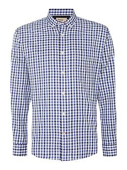 Oxford Check Slim Fit Long Sleeve Shirt