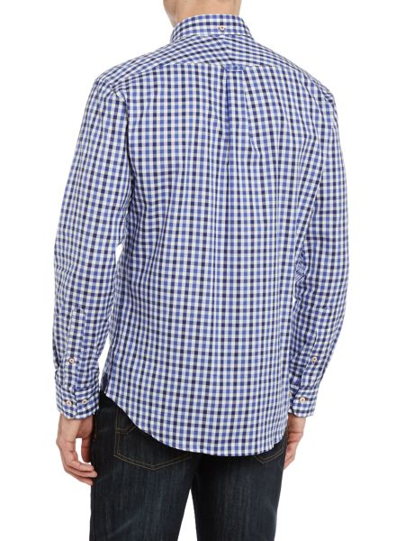 TM Lewin Oxford Check Slim Fit Long Sleeve Shirt