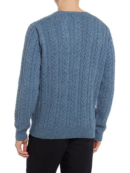 TM Lewin Plain Crew Neck Pull Over Jumpers