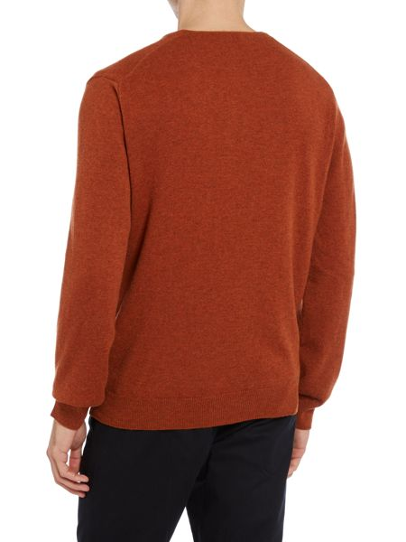 TM Lewin Plain V-Neck Pull Over Jumpers