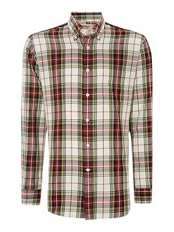 Check Classic Fit Long Sleeve Button Down Shirt