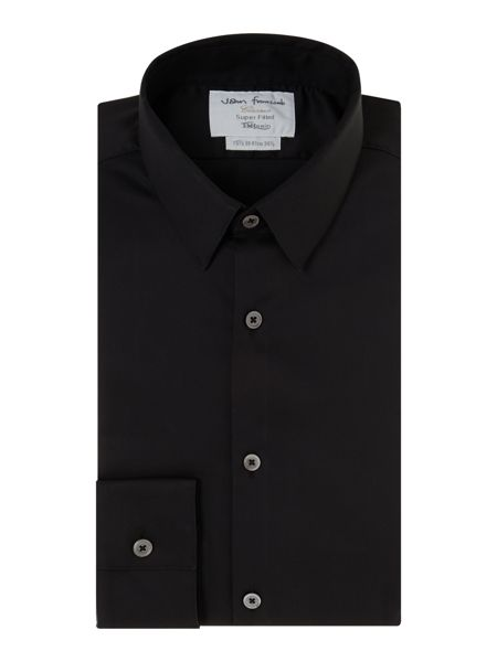 TM Lewin Sateen Super Fitted Shirt