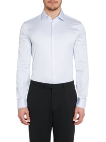 TM Lewin Stripe Tailored Fit Long Sleeve Shirt