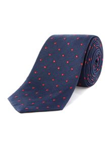 TM Lewin Patterned Silk Tie