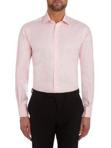 TM Lewin Plain Slim Fit Classic Collar Formal Shirt