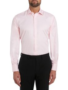 TM Lewin Plain Classic Fit Long Sleeve Formal Shirt