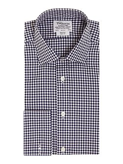 Gingham Non-Iron Slim Fit Formal Shirt