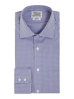 Gingham Non-Iron Classic Fit Formal Shirt