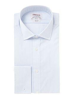 End-On-End Stripe Slim Fit Shirt