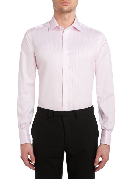 TM Lewin Stripe Non-Iron Slim Fit Formal Shirt