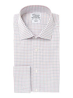 Non-Iron Check Slim Fit Shirt