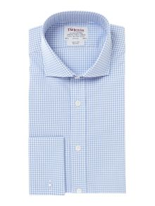 TM Lewin Gingham Cutaway Collar Slim Fit  Shirt
