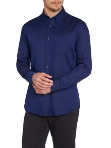 TM Lewin Plain Oxford Button Down Shirt