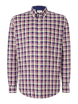 Oxford Check Button Down Shirt