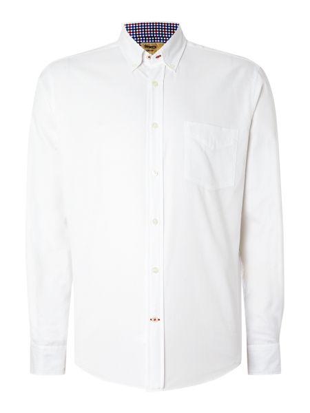TM Lewin Royal Oxford Button Down Casual Shirt
