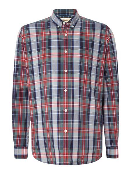 TM Lewin Check Button Down Shirt