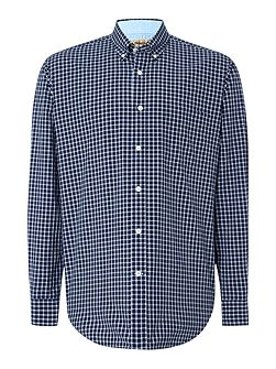Check Relaxed Fit Casual Shirt