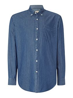 Denim Relaxed Fit Casual Shirt