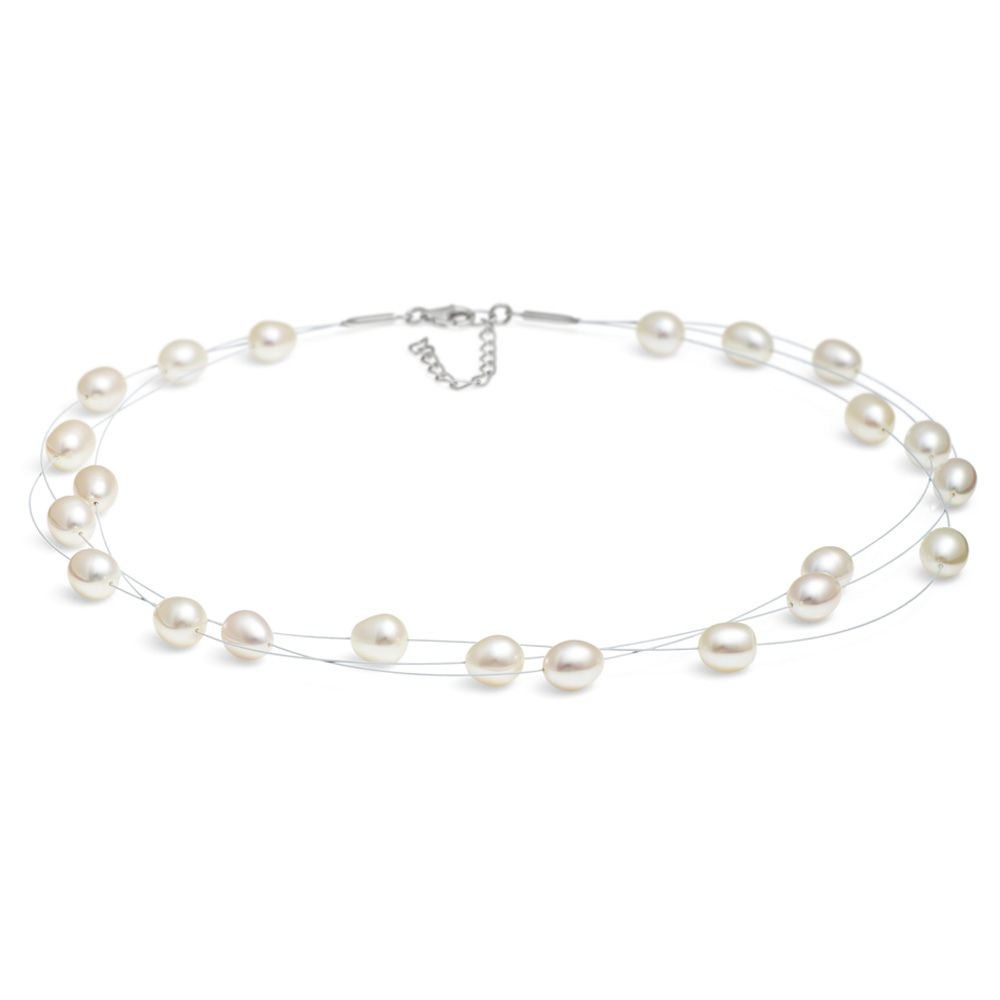 Jersey Pearl Jersey Pearl Dewdrop Pearl Necklace, Pearl