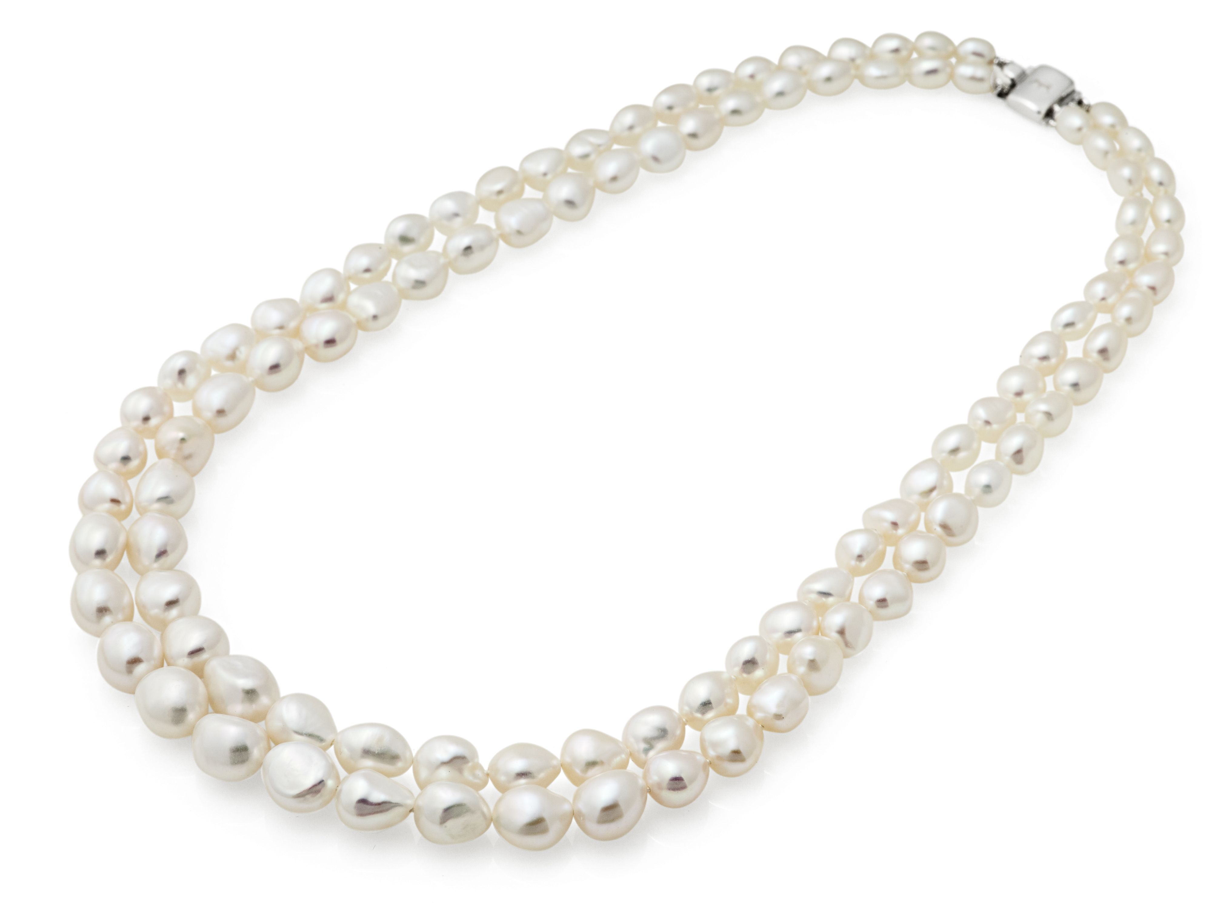 Jersey Pearl Jersey Pearl Freshwater Pearl Necklace, N/A