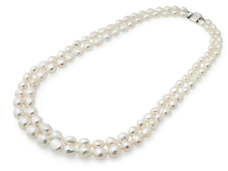 Jersey Pearl Freshwater Pearl Necklace